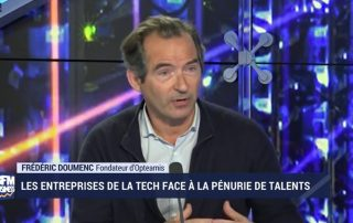 bfm business recrutement débat IT ressources frédéric domenc
